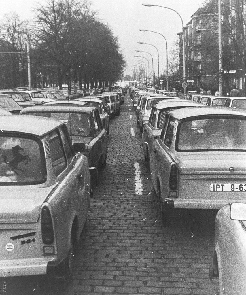 Bornholmer Straße, Sonnabend, 11.11.89 um 8.30 Uhr