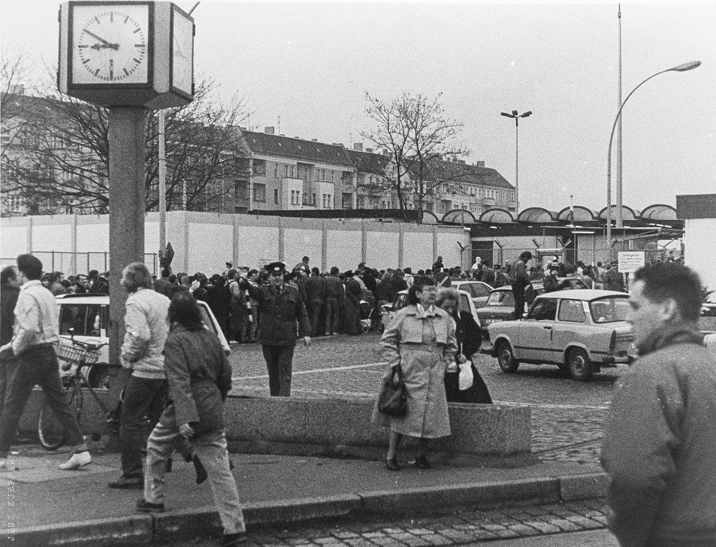 Grenzübergangsstelle Bornholmer Straße 11.11.