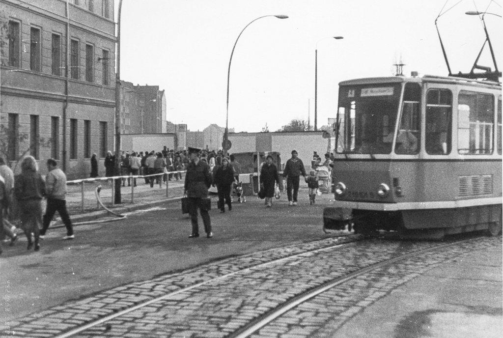 Eberswalder Straße – 11.11.89, 16.20 Uhr