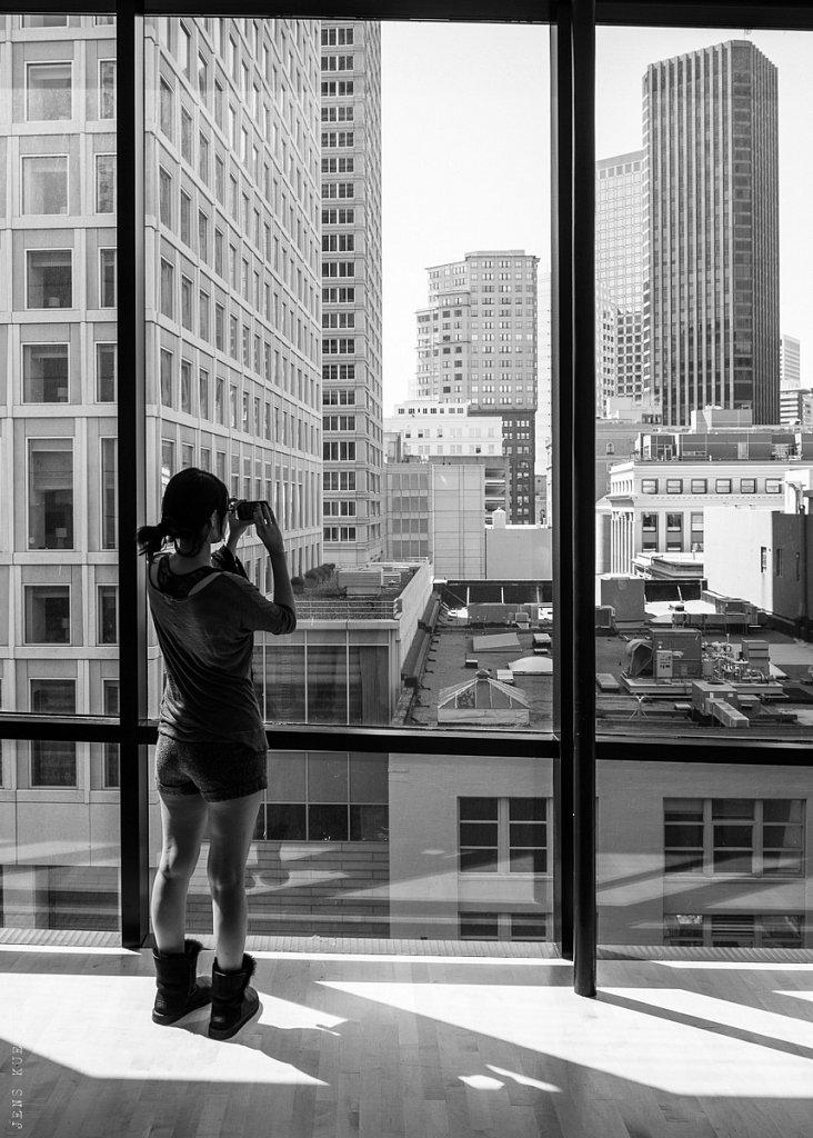 Inside MoMA, San Francisco – USA, 2013