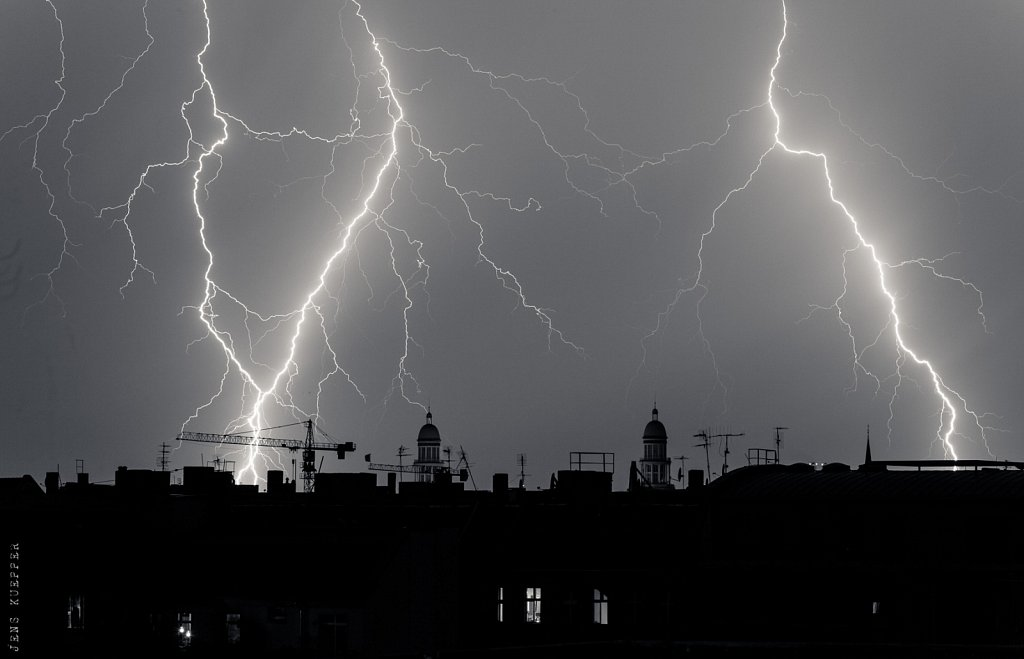 Thunderstorm over Berlin – 2015