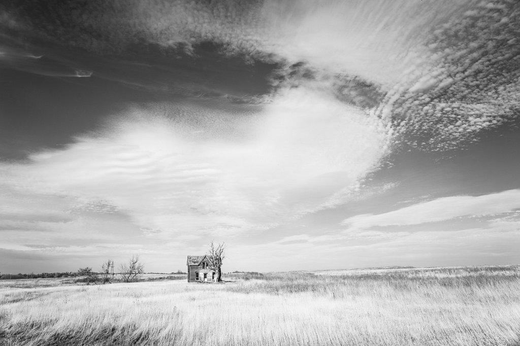 Abandoned house, Kansas, 2013